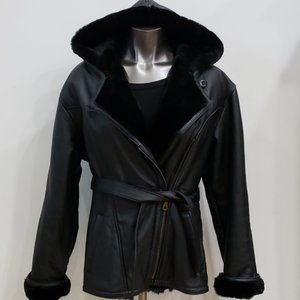 Wilson's Leather Parka Jacket